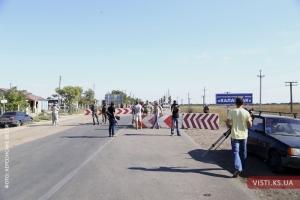 На границе с Крымом началась «махновщина»