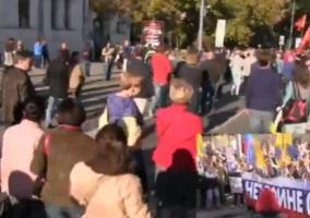 В Москве проходит «Марш мира» (онлайн-трансляция)