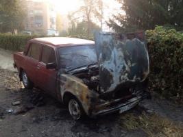 В Полтаве сожгли автомобиль журналиста-расследователя