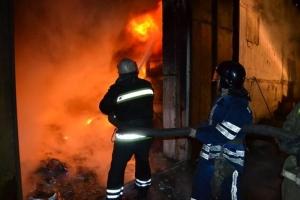 В Одесской области пожар тушили 43 спасателя и 11 машин