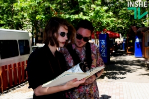В Николаеве открылась уличная библиотека