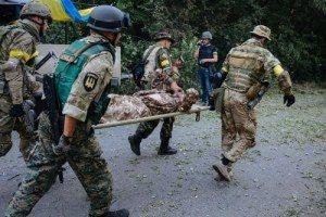 За сутки в зоне АТО четверо украинских военнослужащих получили ранения