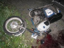 В Одесской области пьяный мотоциклист погиб, врезавшись в торговый центр