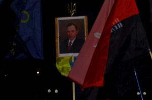 Херсонцы отметили 107-ю годовщину со дня рождения Степана Бандеры факельным шествием. ФОТОРЕПОРТАЖ