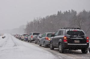 В Николаевской области все трассы закрыты - движение транспорта невозможно