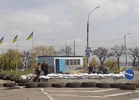 Николаевские блок-посты подключают к электросети