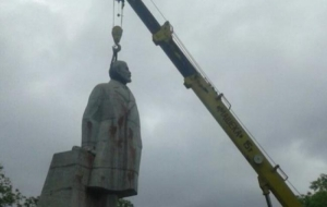 В Одессе не могут снести последний памятник Ленину