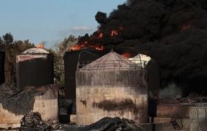Завершено расследование пожара на нефтебазе БРСМ под Киевом