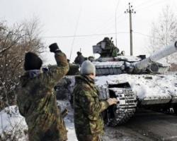 Боевики за вчерашний вечер 10 раз обстреляли позиции сил АТО из тяжелой артиллерии