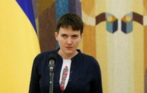 Надежда Савченко едет митинговать против мэра Одессы