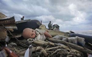 На Хесонщине в мусорнике нашли новорожденного ребенка