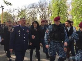 Одесская милиция разогнала митинг «Народной рады Бессарабии»