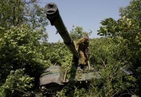 На Донбассе боевики используют все виды оружия