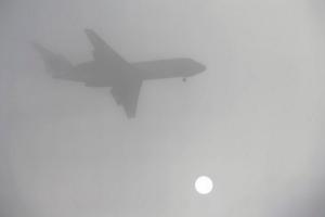 Аэропорт «Херсон» не может принимать самолеты из-за тумана