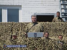 Морские пехотинцы отправились из Николаева защищать Мариуполь - Порошенко