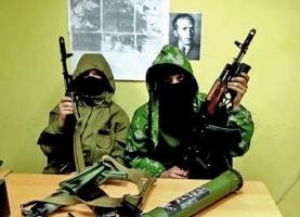 На Донбассе террористы обустроили центр по подготовке новобранцев убивать