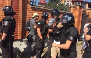 Киевская милиция отпустила тех, кого задержала полиция. ФОТО