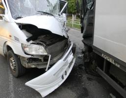 В Херсоне в результате ДТП семь человек попали в больницу