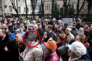 Жительница Николаева, разыскиваемая СБУ за сепаратизм, участвовала в пропагандистской акции в Москве