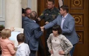 Пашинский и Власенко подрались в Верховной Раде