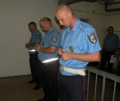 Как сотрудники Николаевской ГАИ проходят аттестацию (ФОТО, ВИДЕО)