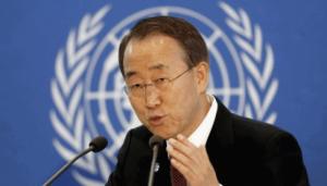 Генсек ООН выступил за перемирие в Дебальцево на время эвакуации мирных жителей