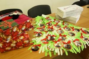 Одесситы собирают подарки для сирот и детей из зоны АТО