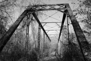 В пригороде Херсона нашли мост-призрак