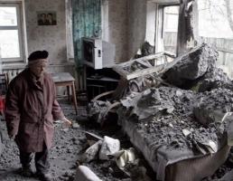 Ночью шесть районов Донецка попали под обстрел, 1 человек погиб