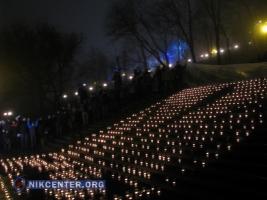 В Одессе зажгли сотни свечей в День Соборности Украины
