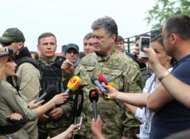 Порошенко: военными методами конфликт на Донбассе не решить - Россия не позволит