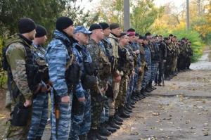 Николаевские бойцы спецподразделения милиции отправились в зону АТО