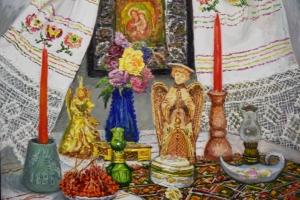 В Николаеве открылась рождественская выставка