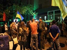 В Херсоне одесские активисты пикетировали  Суворовский районный суд