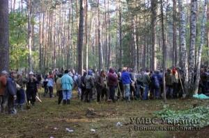 На Волыни тысячи силовиков противодейстуют незаконной добыче янтаря