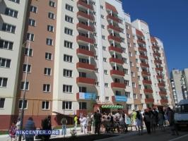 В Николаеве торжественно открыли 126-квартирный дом для участников АТО, учителей и врачей (ФОТО, ВИДЕО)