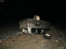 В Николаевской области на внедорожнике разбился человек