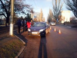 На Николаевщине водитель сбил школьника на пешеходном переходе