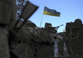 Террористы атаковали украинский опорный пункт