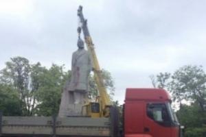 В Одессе демонтировали последний памятник Ленину
