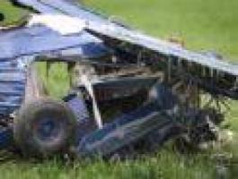 В Центральной Америке разбился самолет, весь экипаж погиб