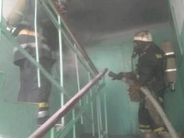 В Николаеве из-за пожара в общежитии спасатели эвакуировали 45 жителей