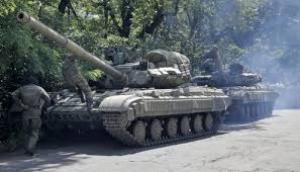Боевики маскируют свою бронетехнику под технику сил АТО