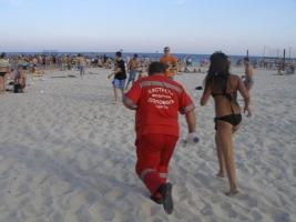 На одесском пляже утонул ребенок