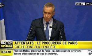 Теракты организовали три группы террористов - прокурор Франции