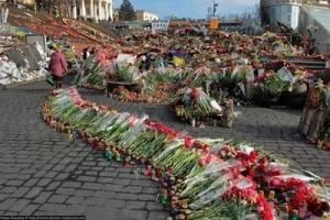 Места расстрела евромайдановцев стали культурным наследием Киева