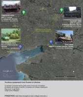 Американские аналитики доказали участие России в военном конфликте на Украине  с помощью Google Maps