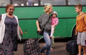 Более 60 тысяч переселенцев вернулись в Луганскую и Донецкую область