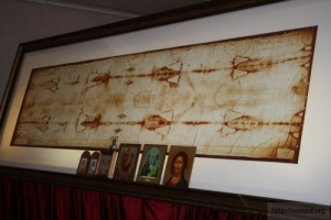 В мае херсонцы смогут поклониться копии Туринской Плащаницы