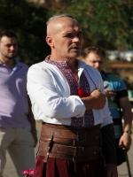 Херсонские и николаевские казаки провели первый на юге Украины фестиваль вышиванок